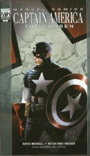 Captain America The Chosen #1 Variant (2007) Marvel comic book